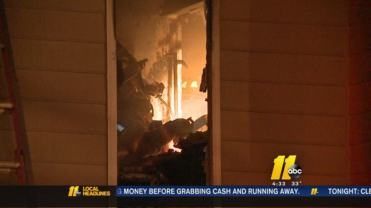 Durham apartment fire forces families out of homes