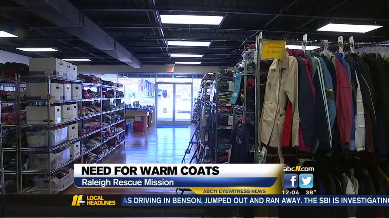 Warm clothing needed