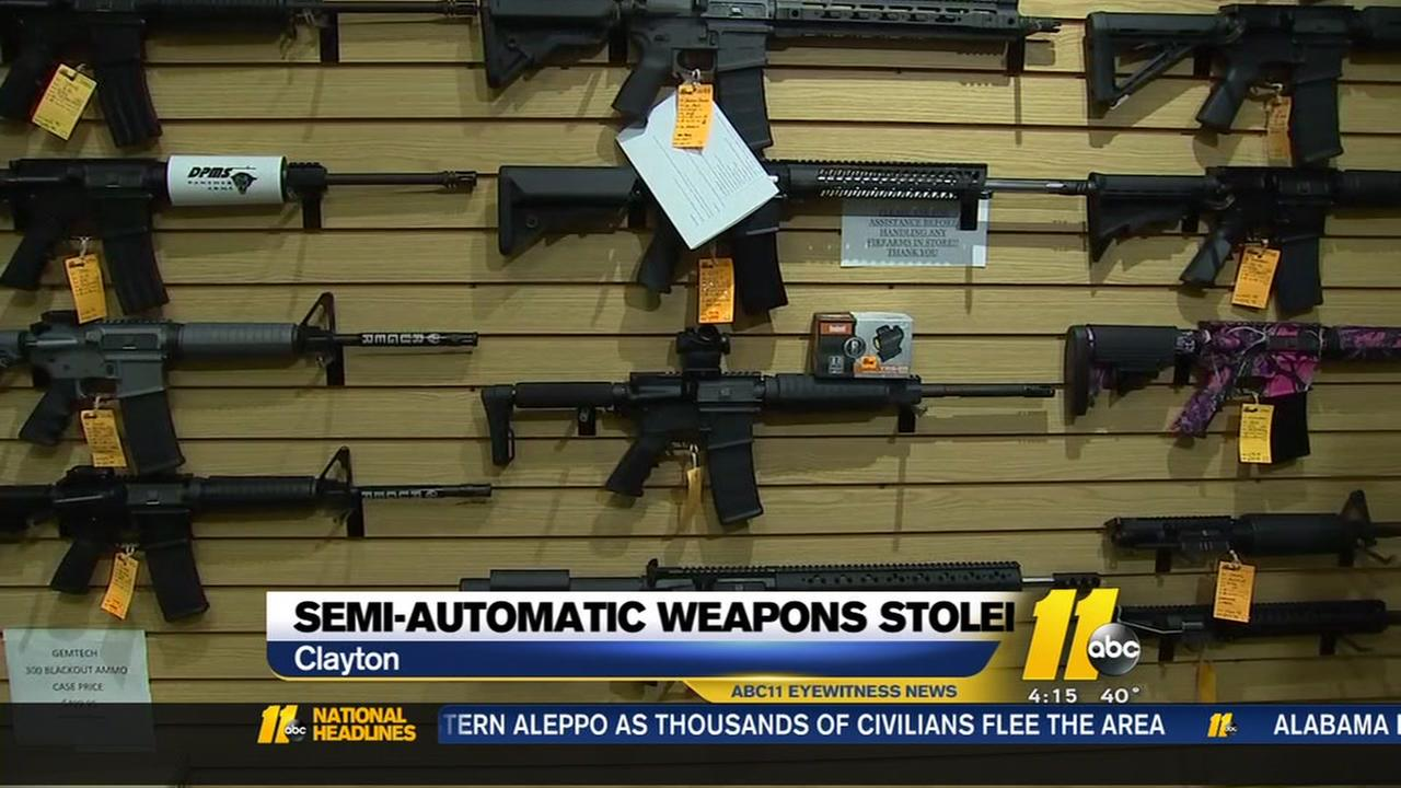 Theres a disturbing gun-theft trend in North Carolina