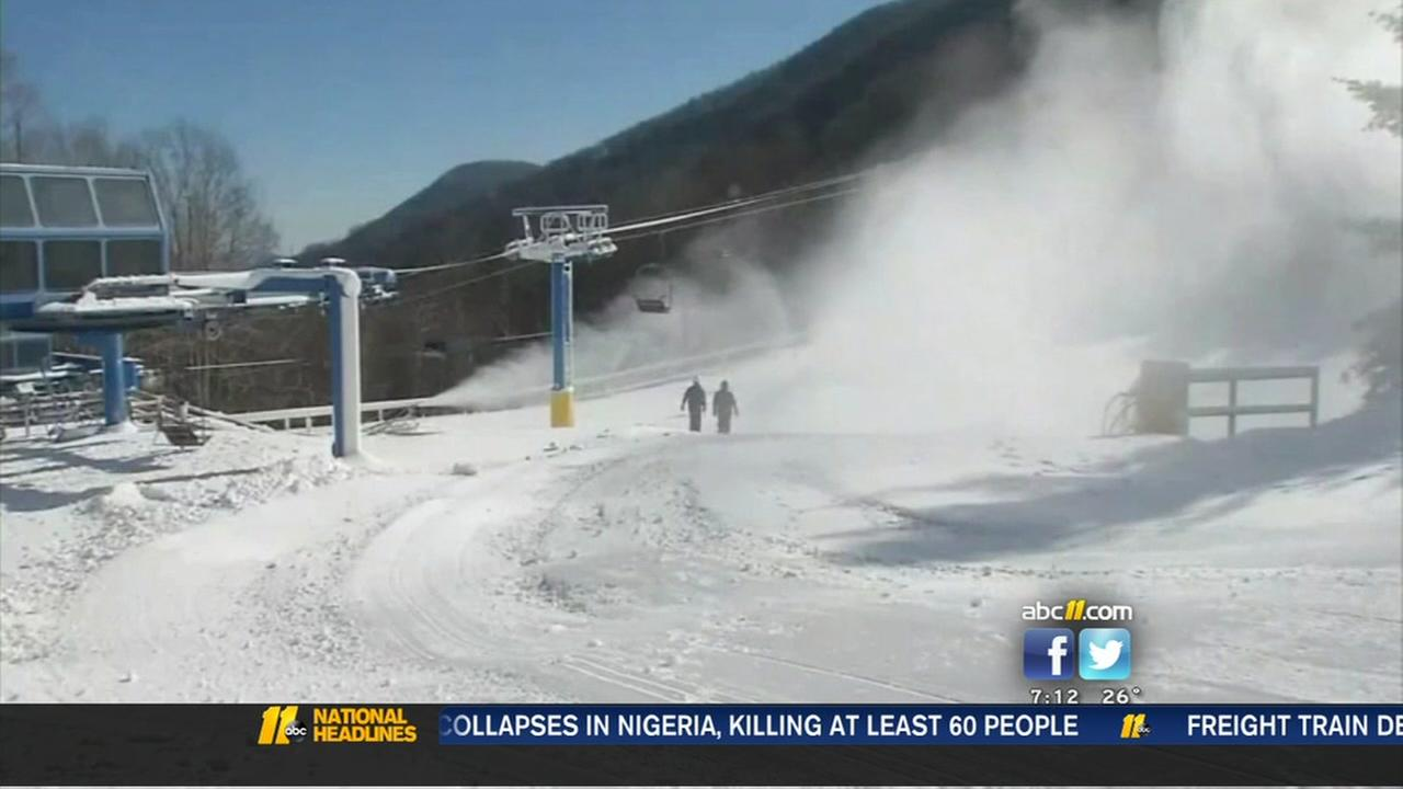 Ski resort prepares for winter
