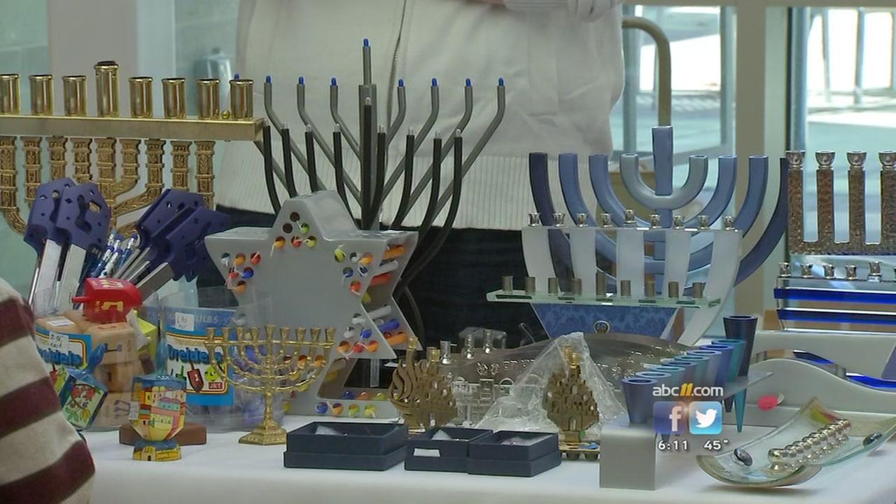 Hanukkah festival delights attendees in Durham