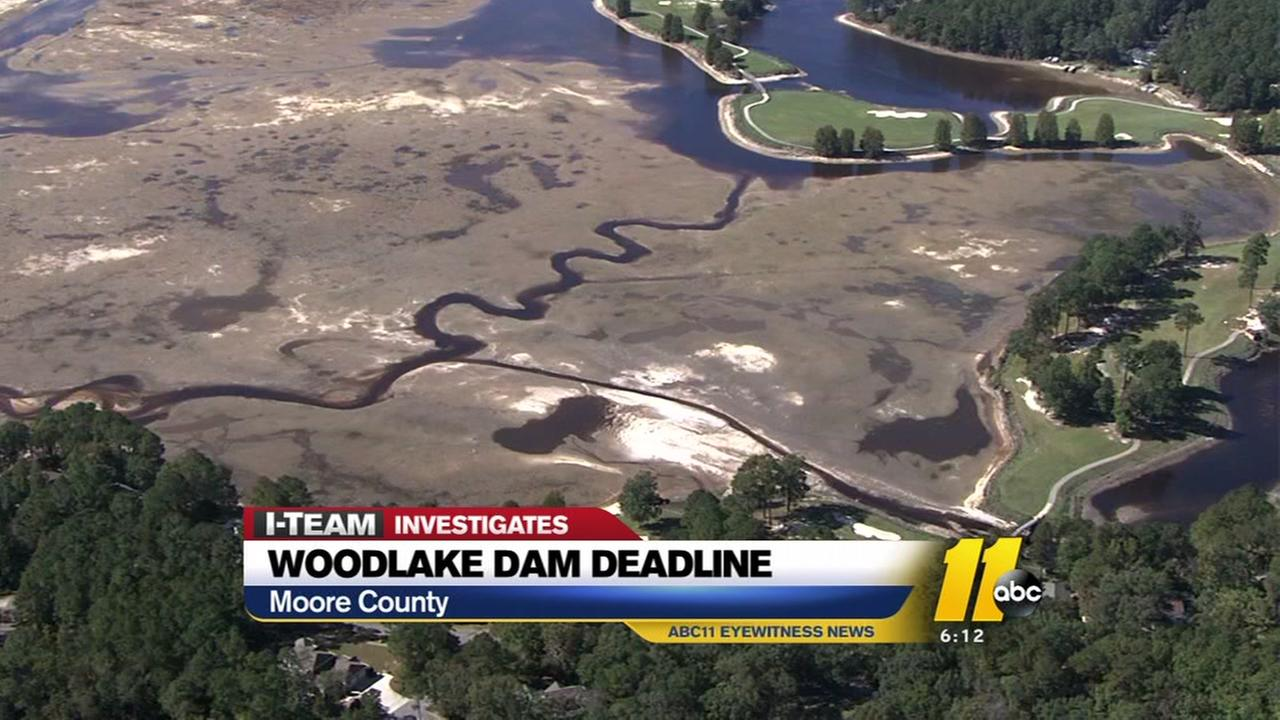 Woodlake Dam owners have no response to state deadline