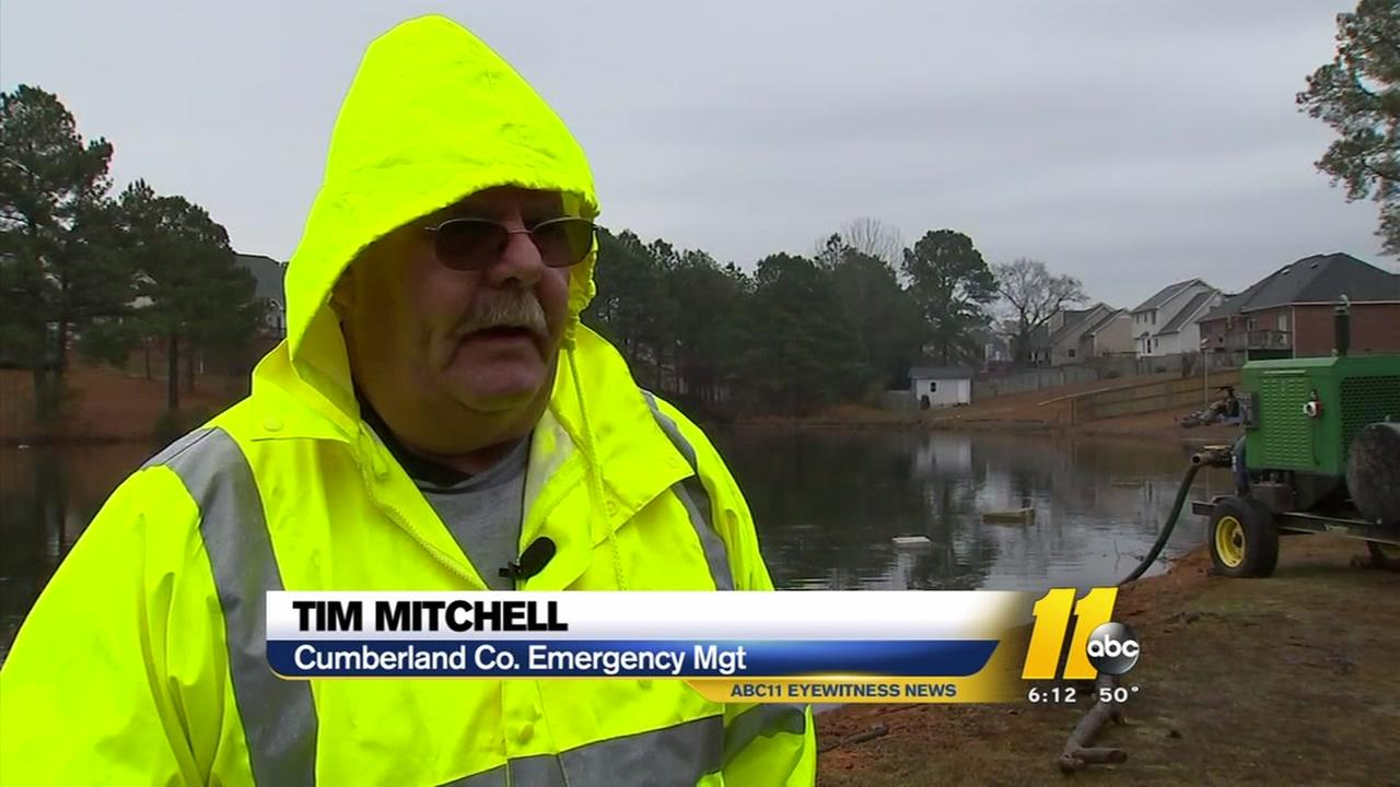 Flooding fears in Cumberland County