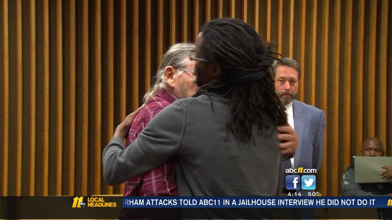 Trump rally puncher, victim have heartfelt moment in court.