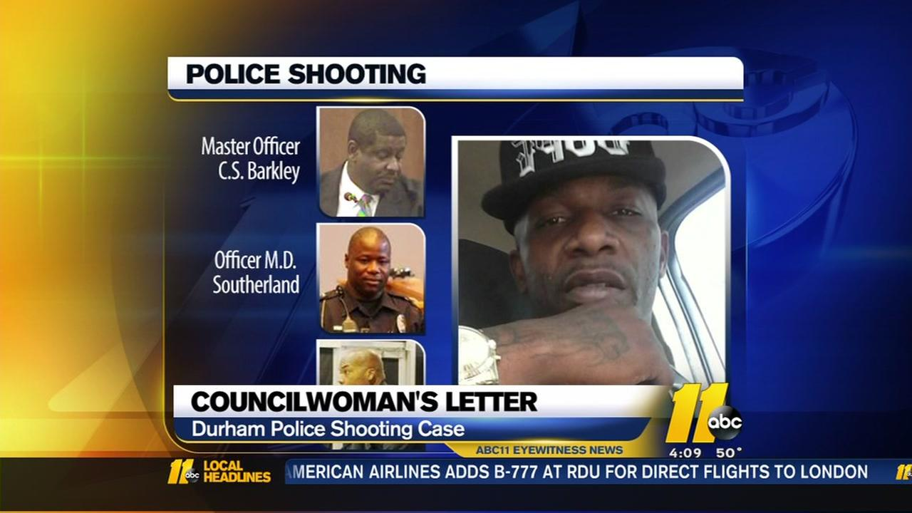New call for firing of officers in Durham shooting