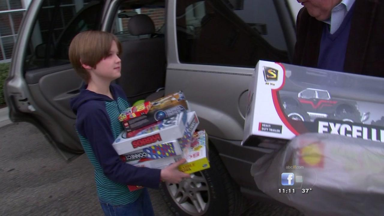 Durham boy donates his birthday gifts to Durham Rescue Mission