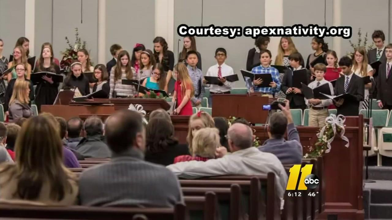WCPSS bars school choirs from Apex Nativity Celebration