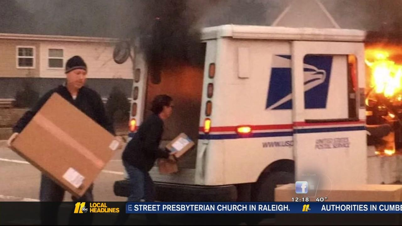 Good Samaritan helped letter carrier save packages
