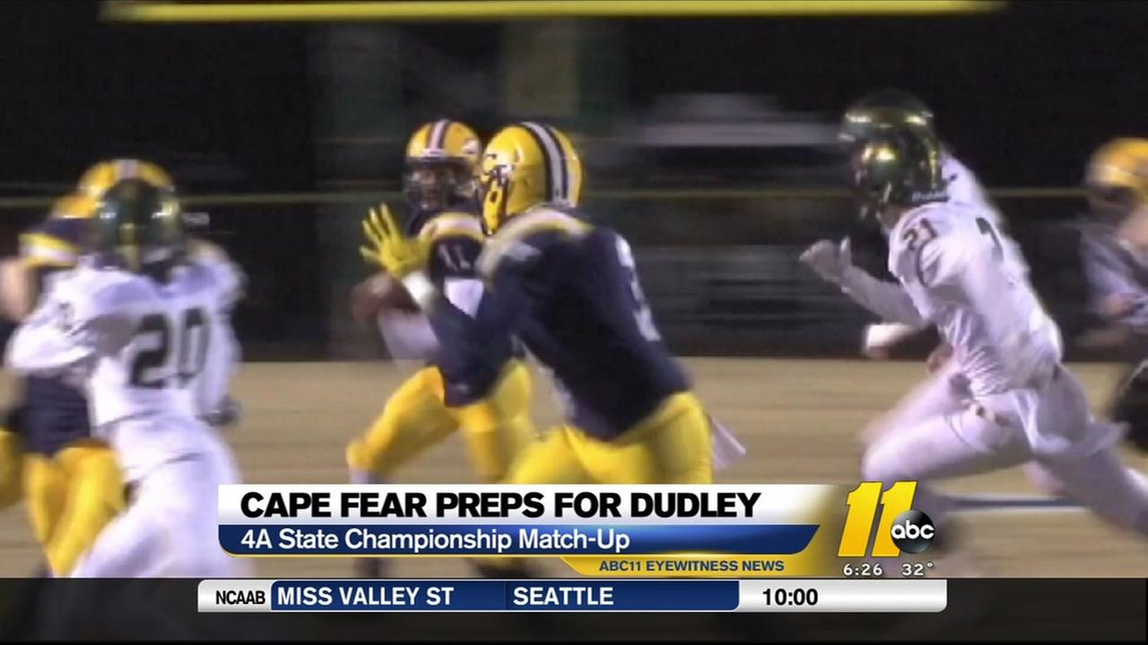Cape Fear prepares to meet Dudley in the State 4A final