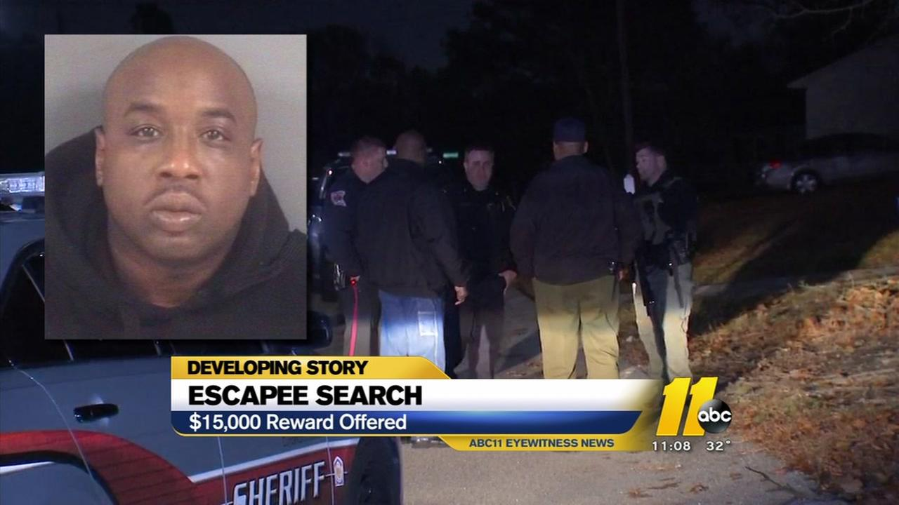 Big reward for escaped inmate
