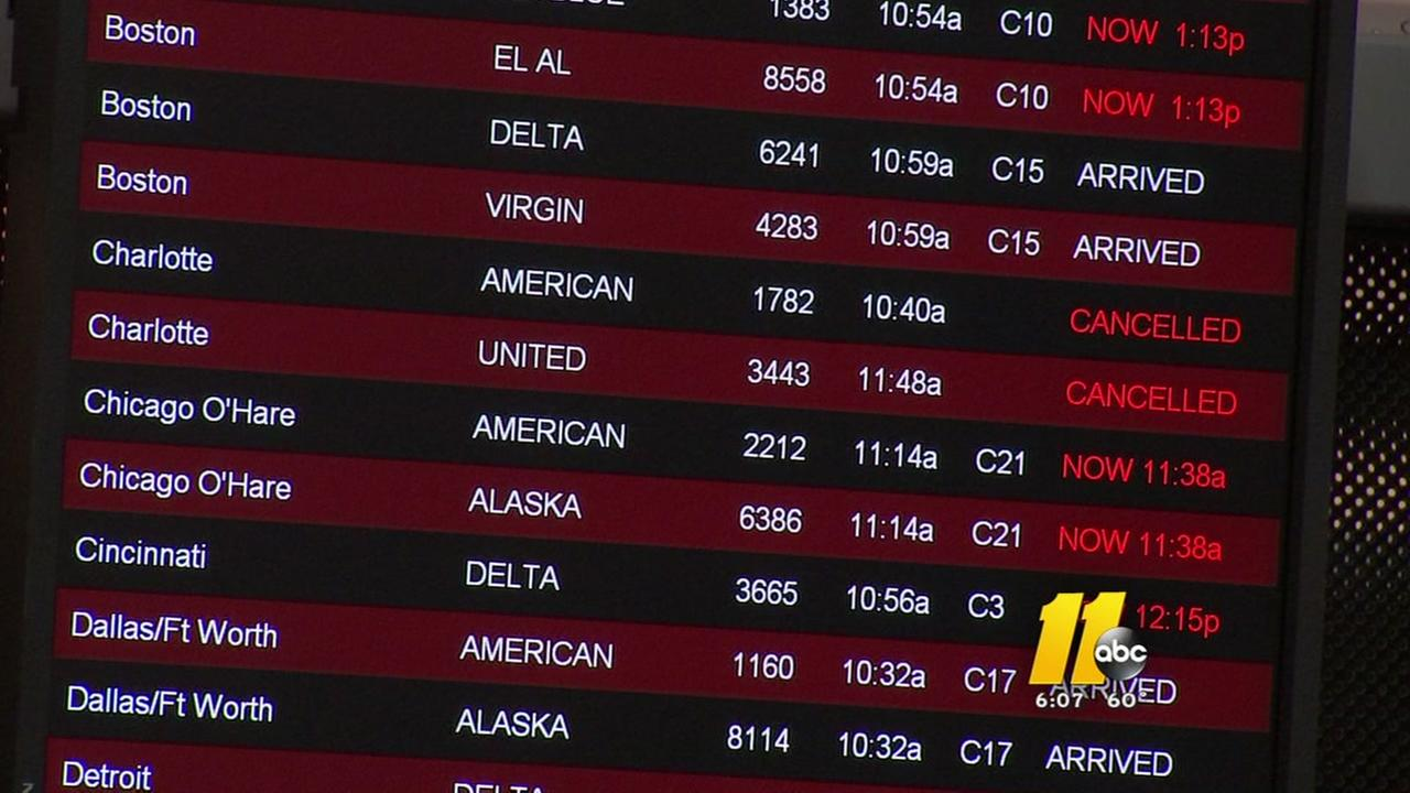 RDU gearing up for holiday travel
