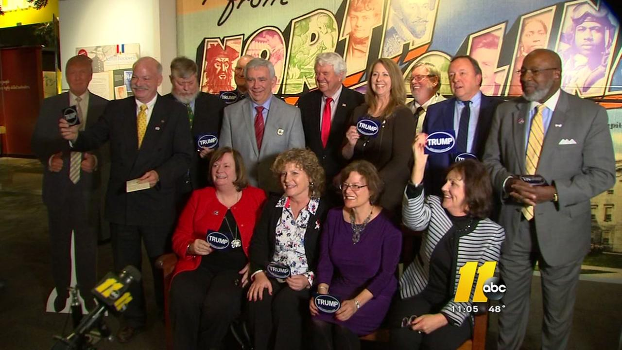 Electors in North Carolina say they will vote for Trump