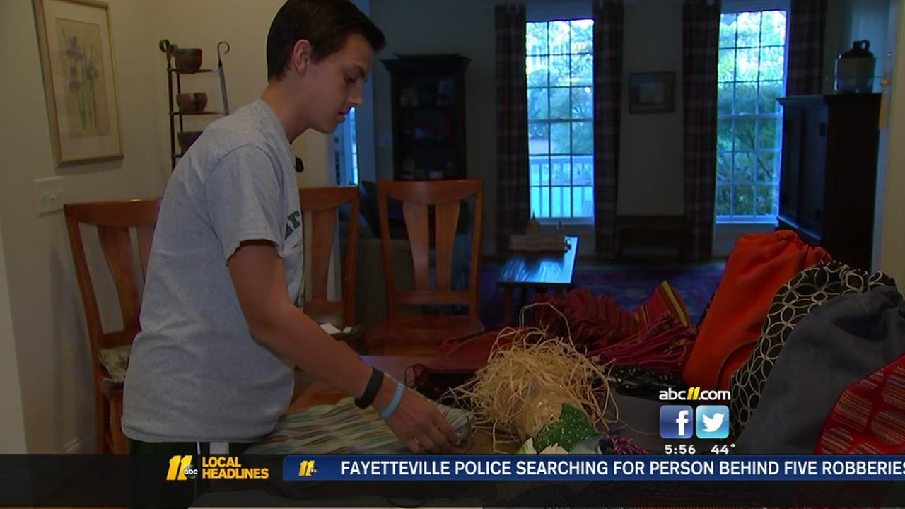 Cary teen helps kids wishes come true with Etsy store