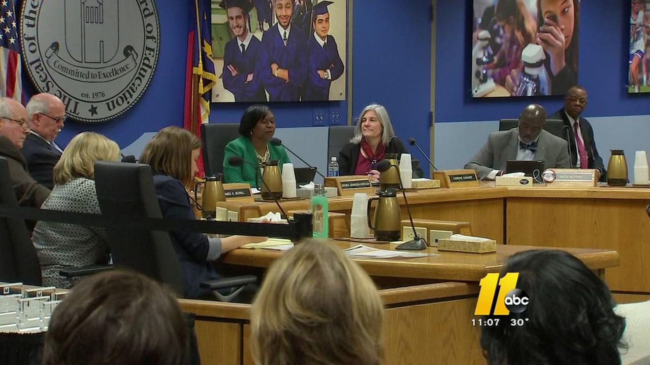 Wake School Board holds final meeting of 2016