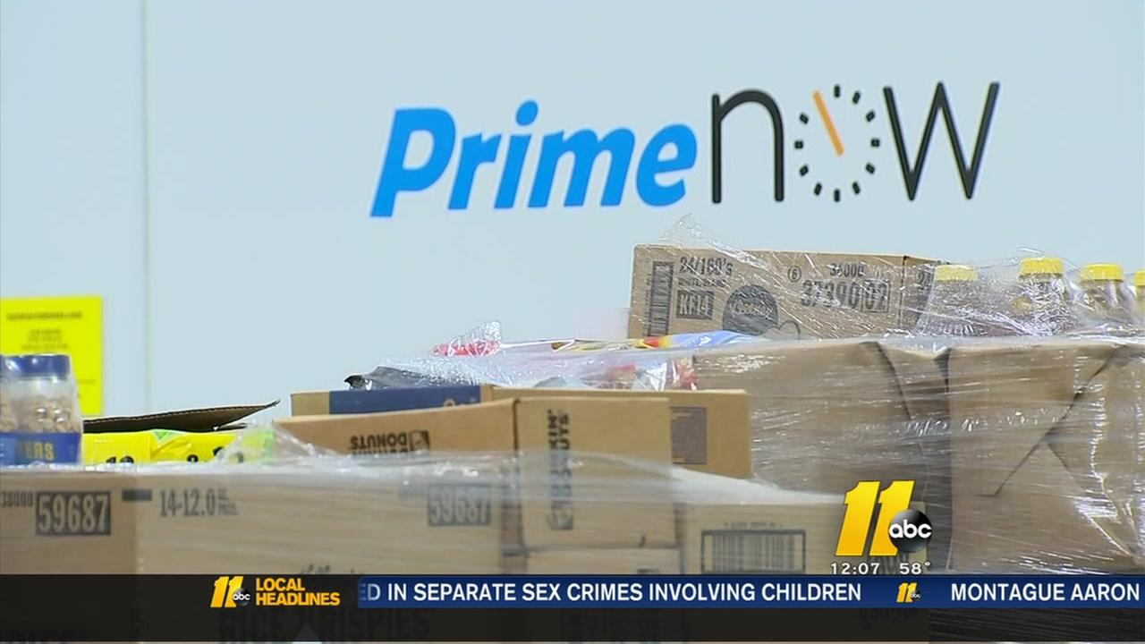 Amazon Prime hub delivers last-minute gifts