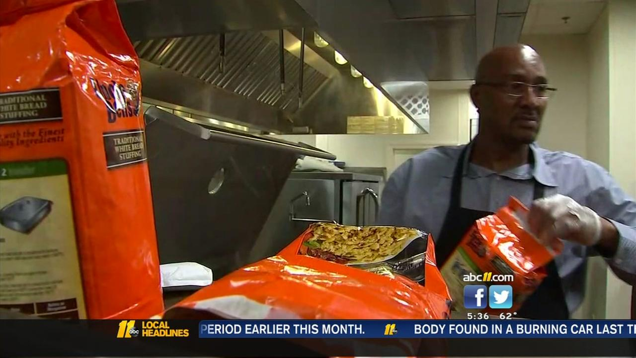 Christmas meal prep underway at Durham Rescue Mission