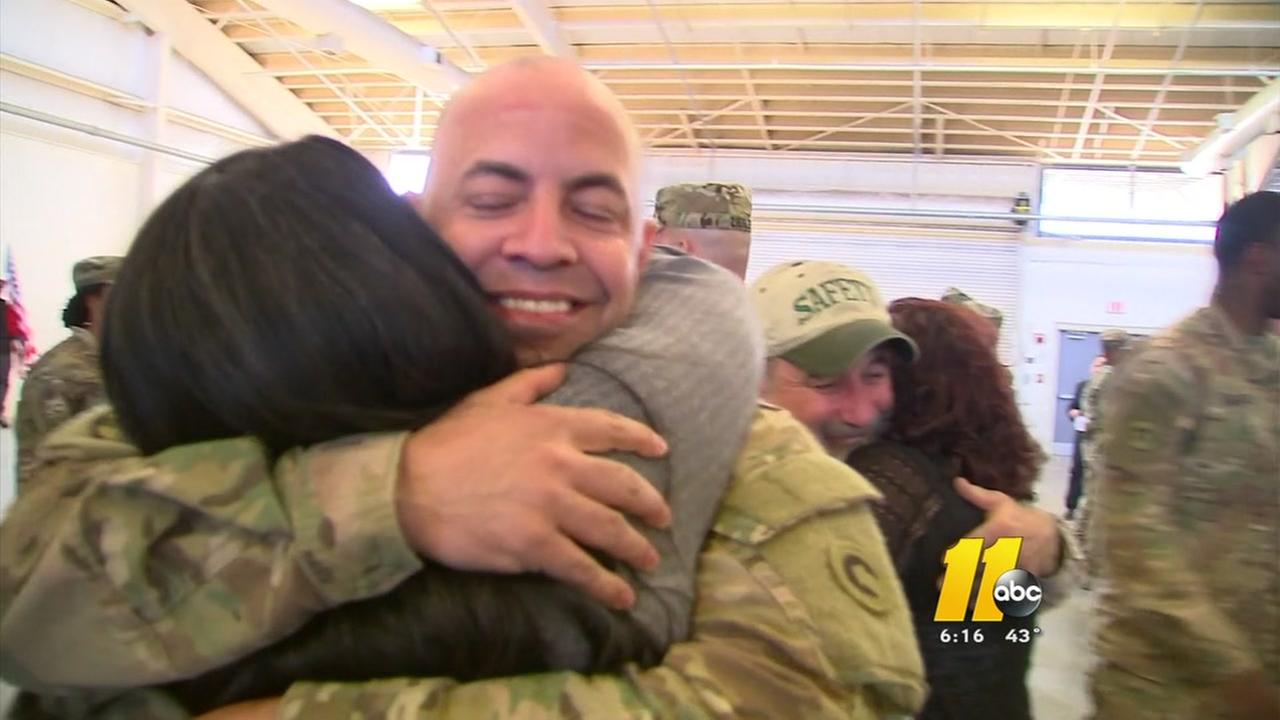Fort Bragg soldiers home for the holidays