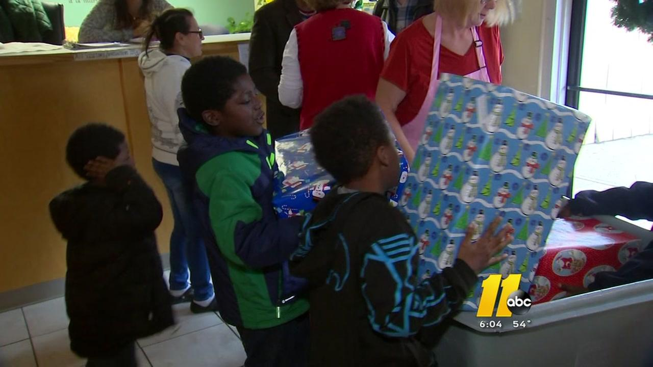 Durham Rescue Mission celebrates generous Christmas gift
