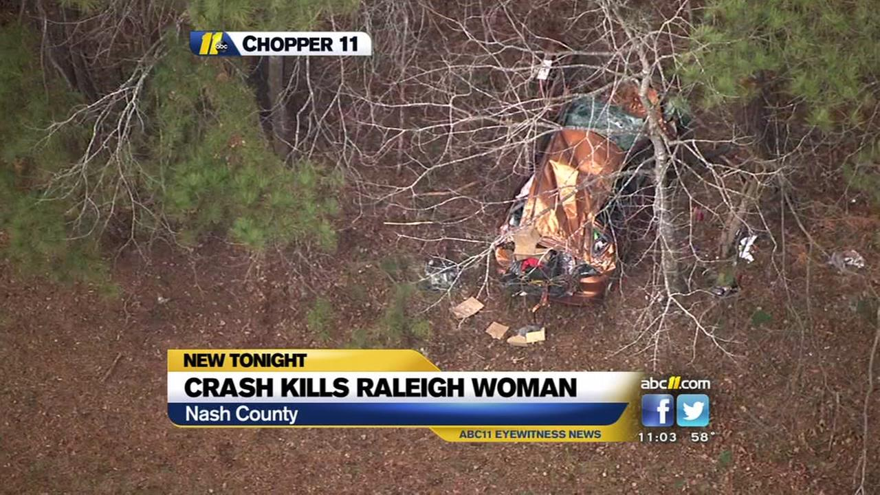 Crash kills Raleigh woman