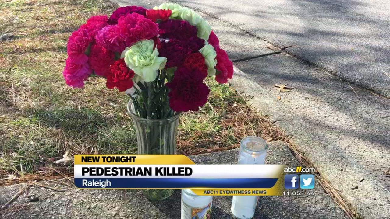 Police ID pedestrian killed in Raleigh
