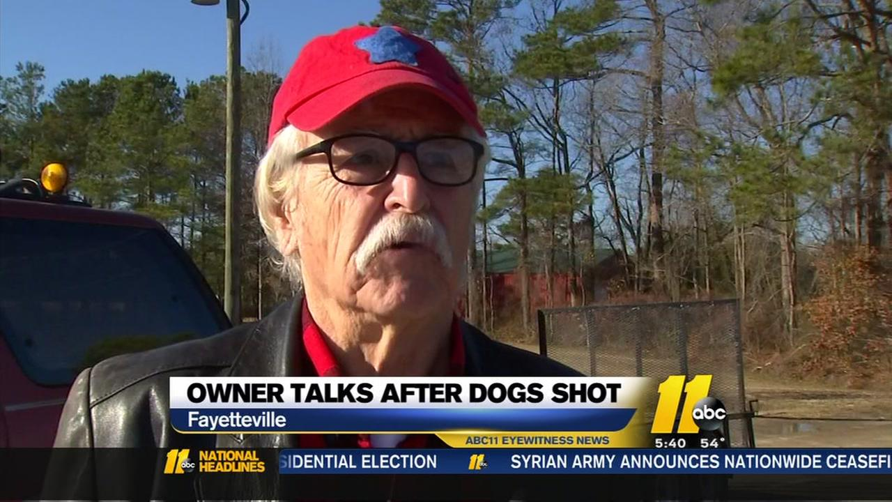 Owner of dogs shot by deputy at Home Depot speaks out