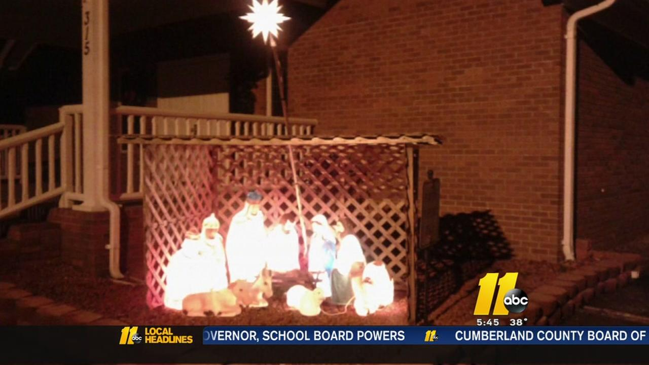 Nativity stolen from NC church