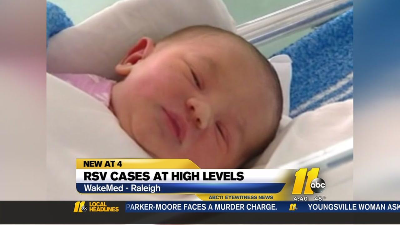 RSV cases at high levels