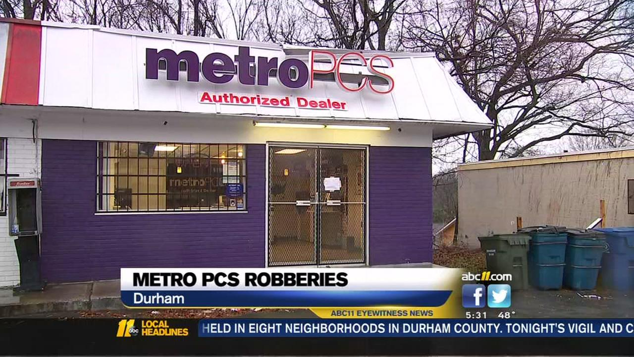 Durham MetroPCS stores targeted in rash of robberies