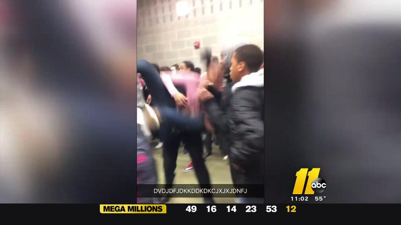 Rolesville school officer on leave after slamming girl to ground
