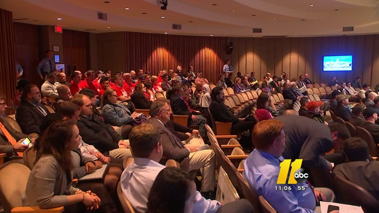 Raleigh emergency workers push for better pay