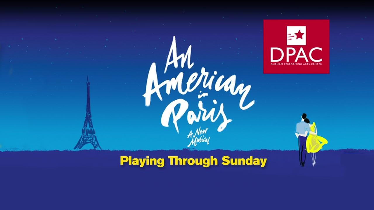An American in Paris playing at DPAC through Sunday