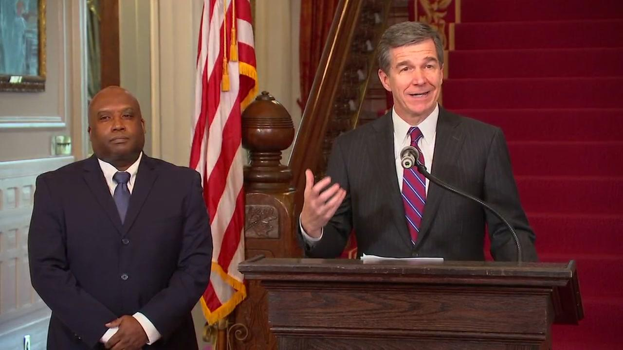 Governor Roy Cooper names Erik Hooks to be secretary of Public Safety
