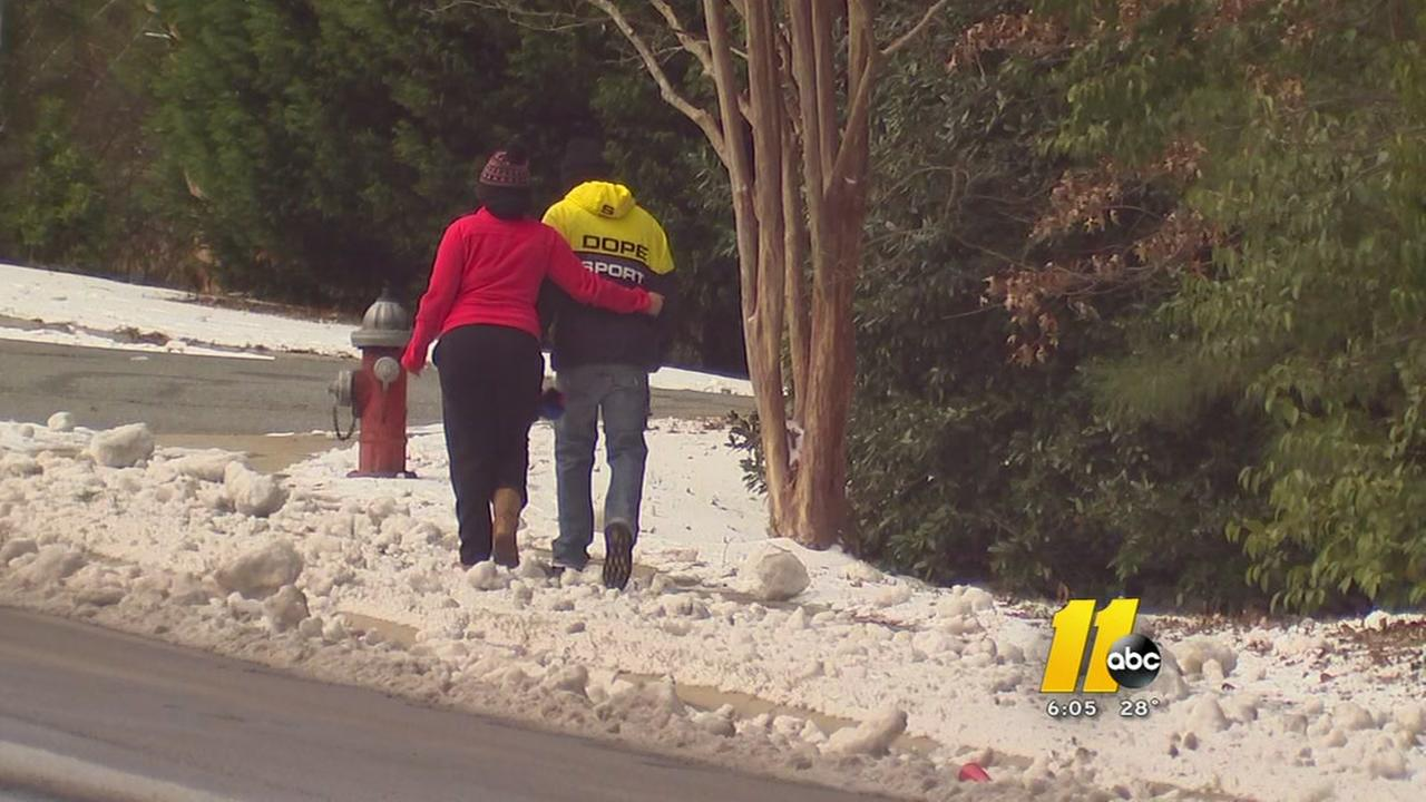 Weather-related injuries on the rise due to icy conditions