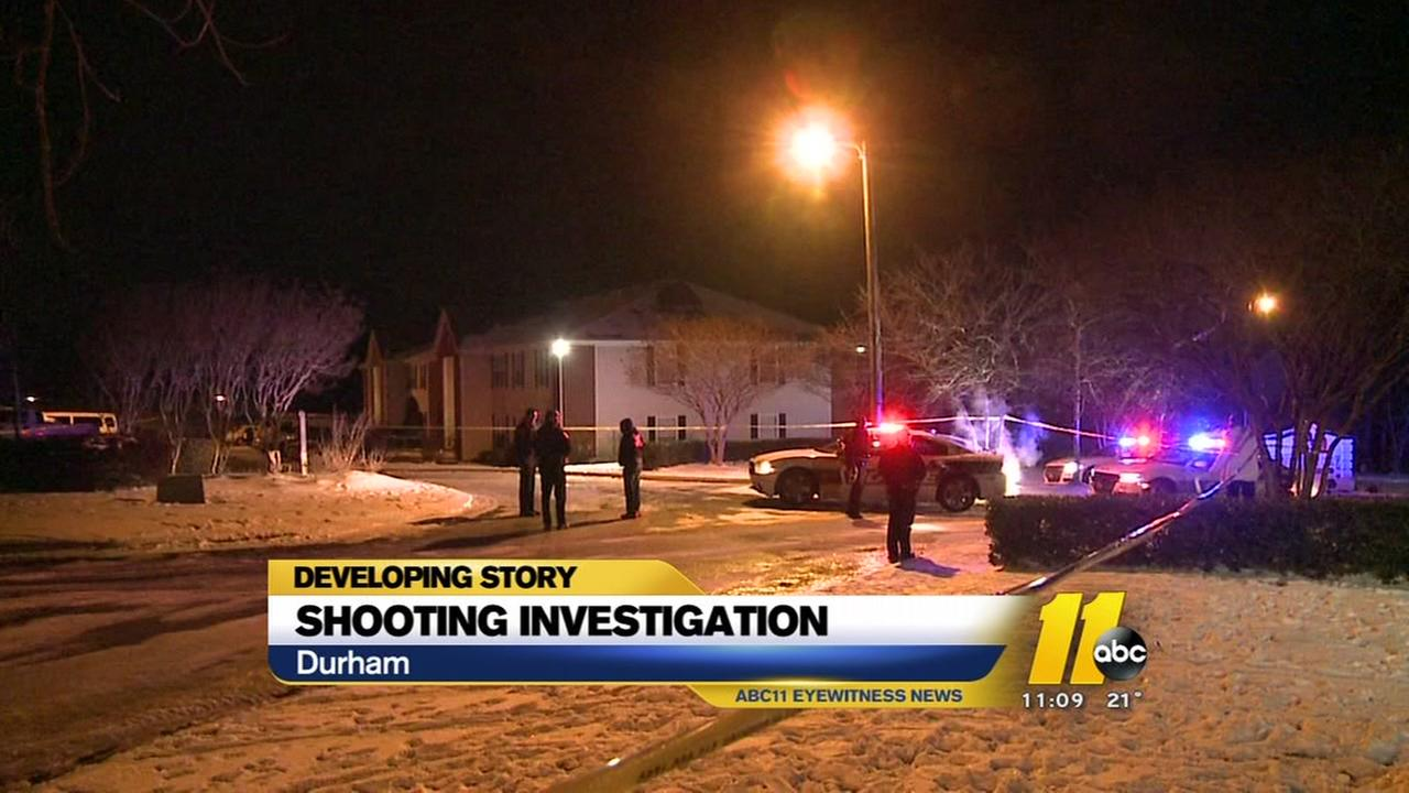 Man shot at Durham apartments