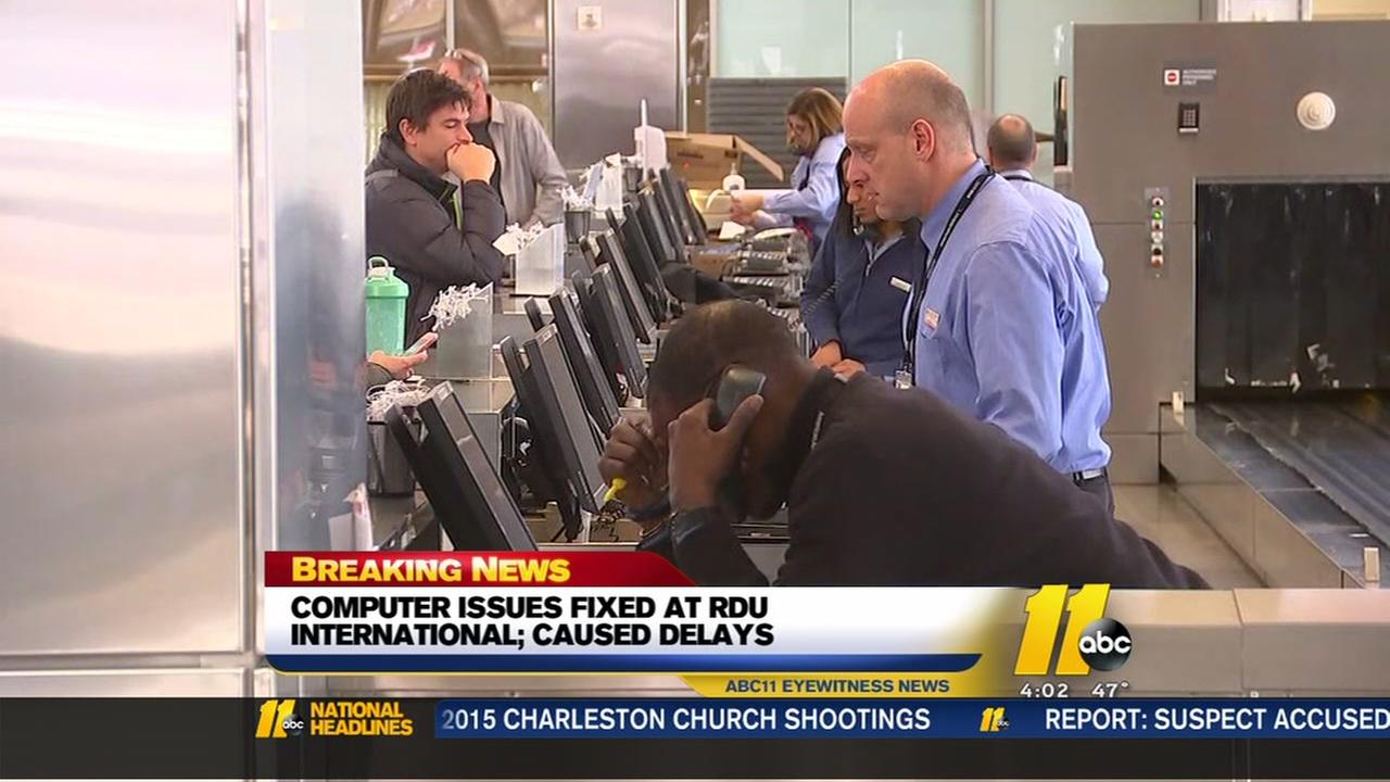 Computer issues fixed at RDU
