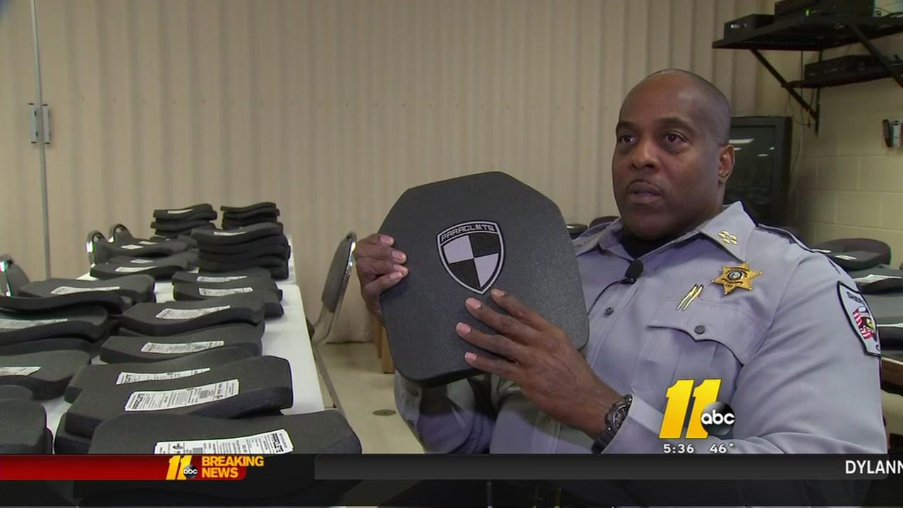 New bulletproof vests for Cumberland County Sheriffs Office