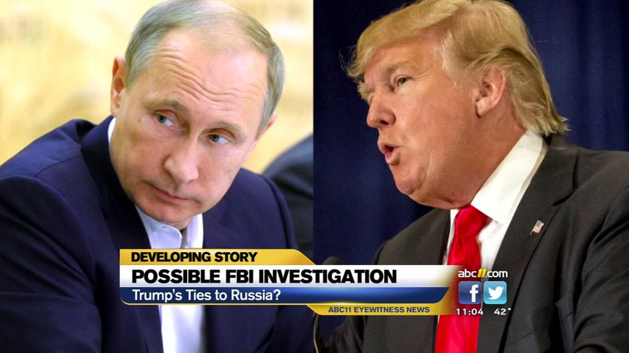 FBI looks at Trump-Russia connections