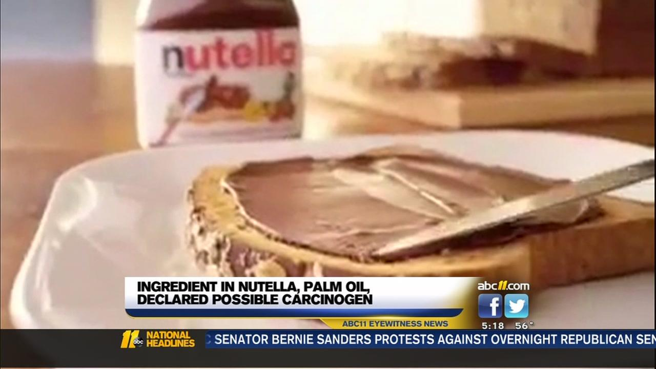 Ingredient in Nutella may cause cancer? Maker responds