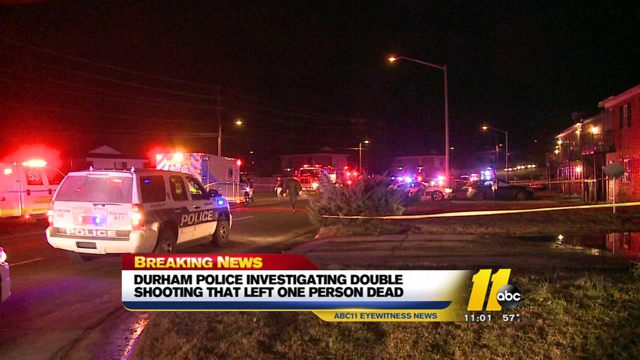 Two shot, one fatally in Durham