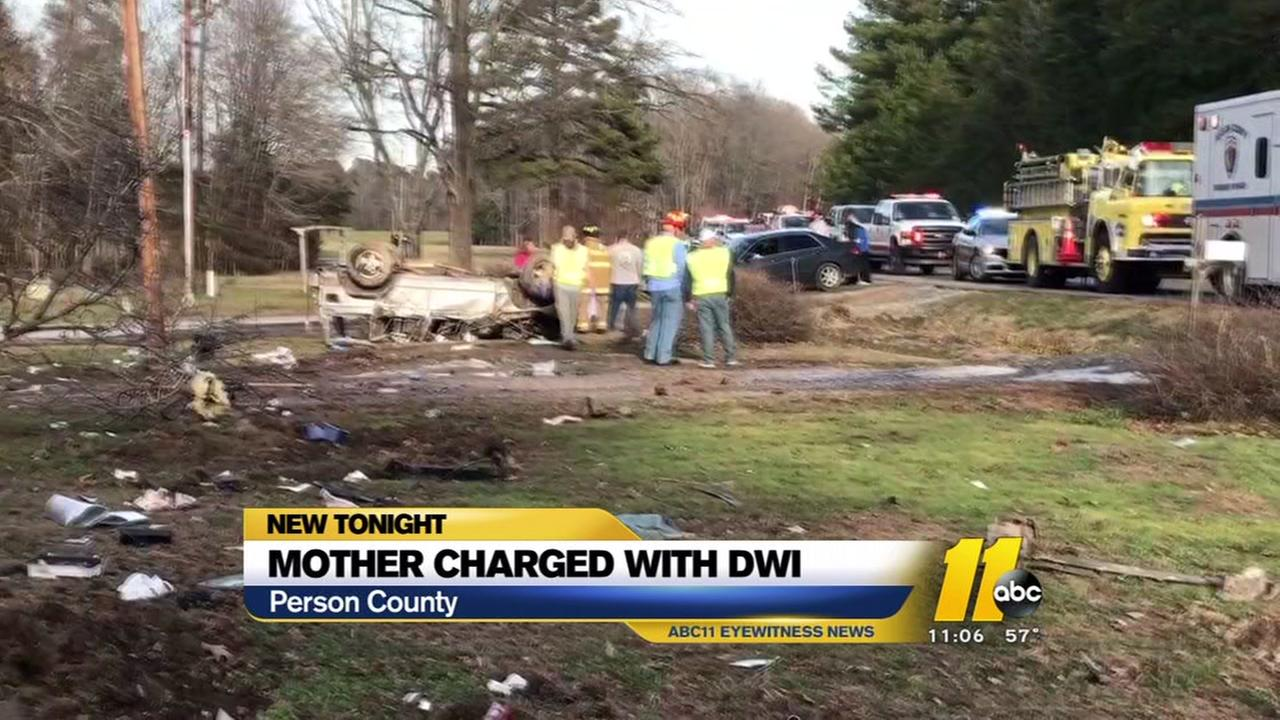 Roxboro mother charged with DWI