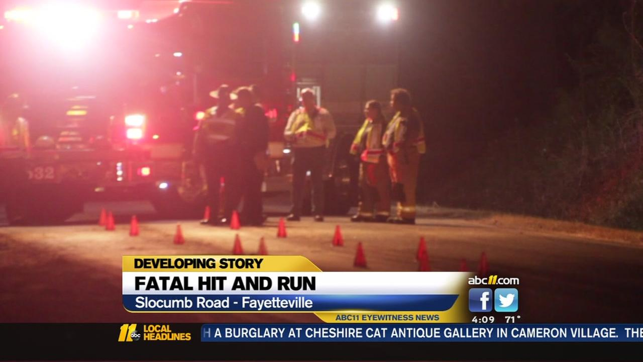 Fatal hit and run on Slocumb Road