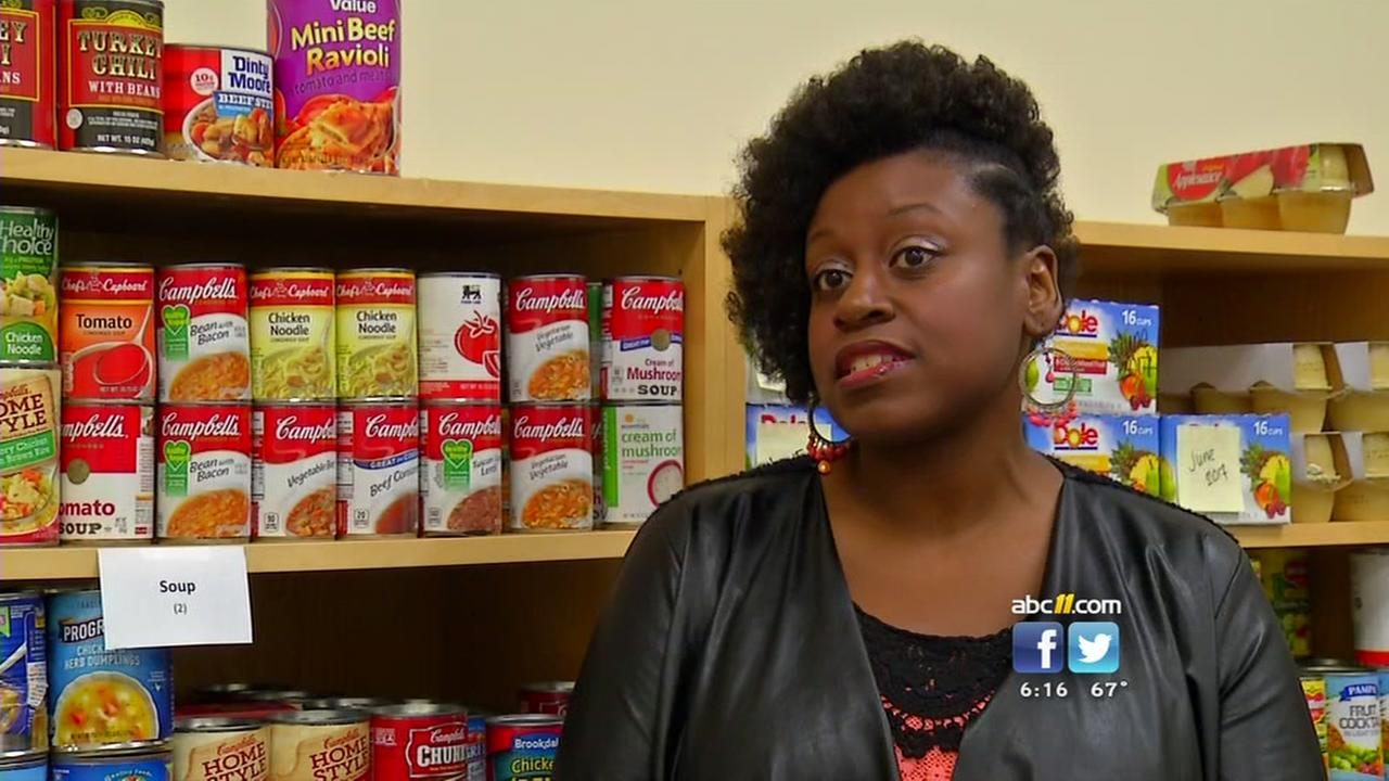 Wake Tech food bank seeks donations