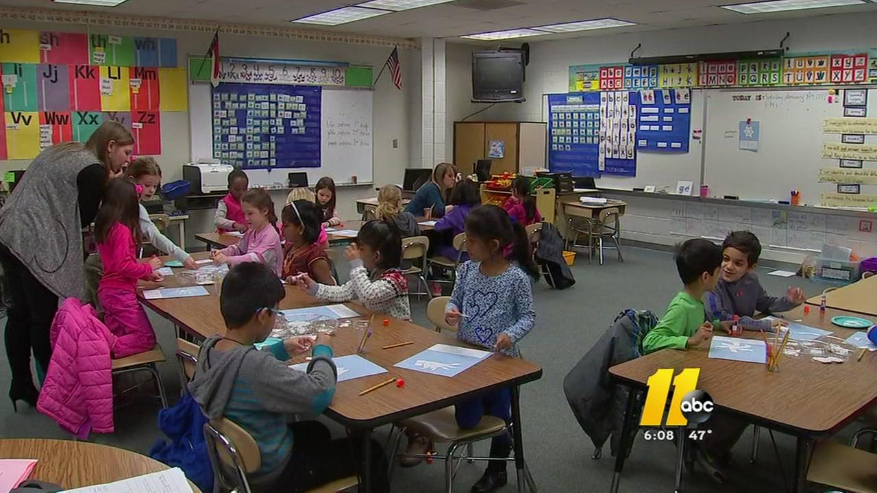 Morrisville students enjoy school on Saturday
