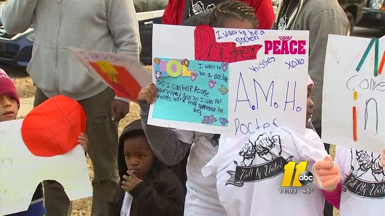 Vigil marks end of Week of Peace in Durham