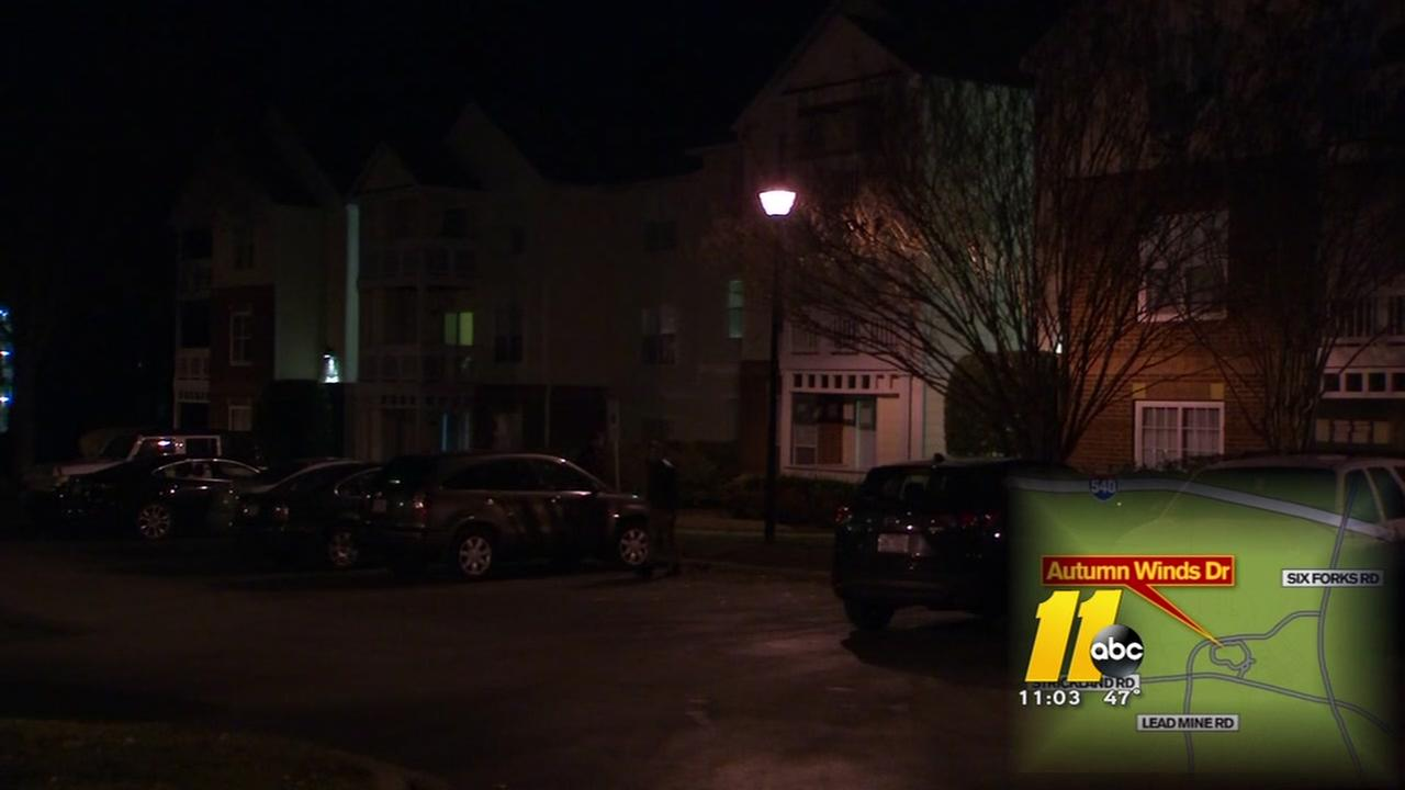 Shot fired during Raleigh home invasion