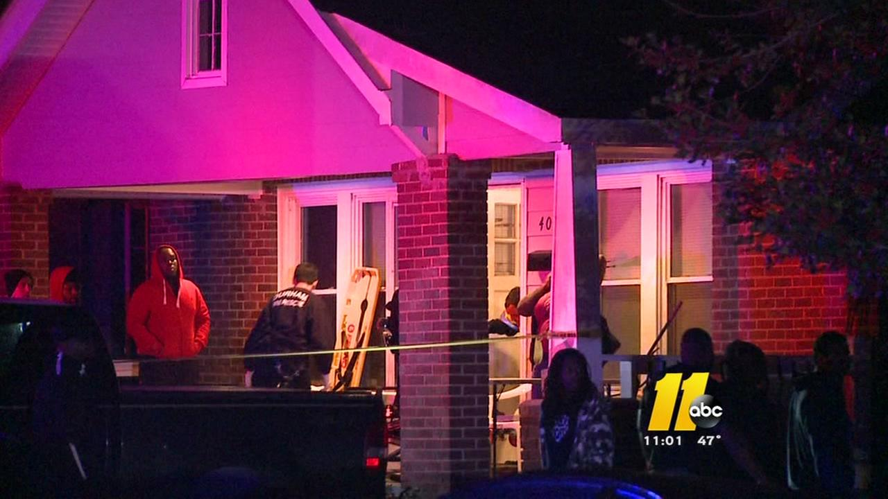 Man shot in home across from NC Central