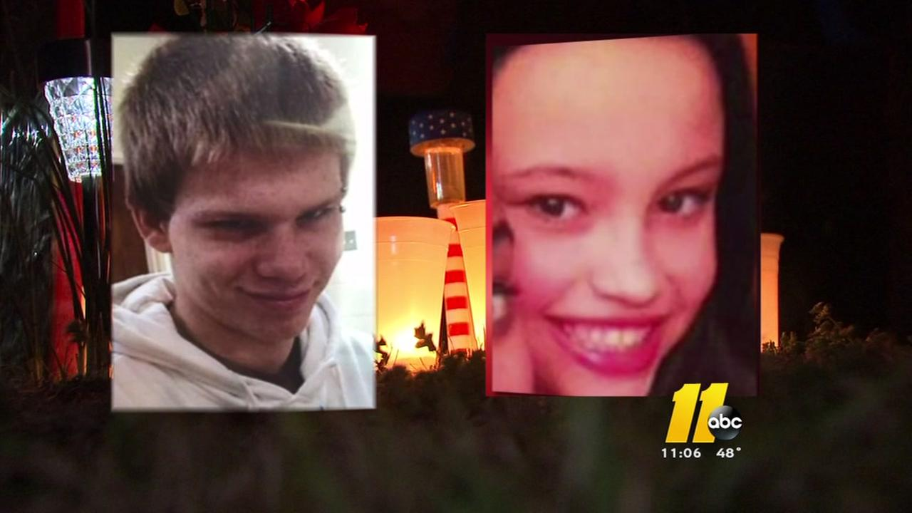 Vigil held to remember Harnett County teens