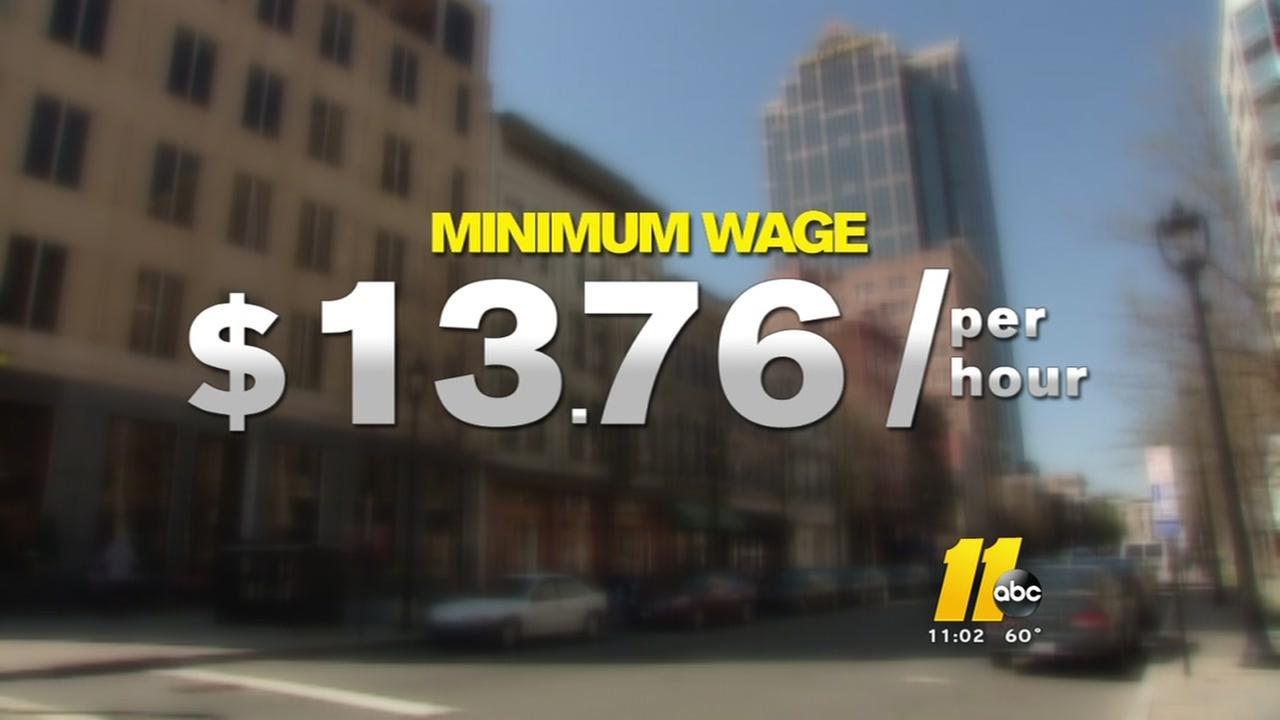 Raleigh approves a living wage for city workers