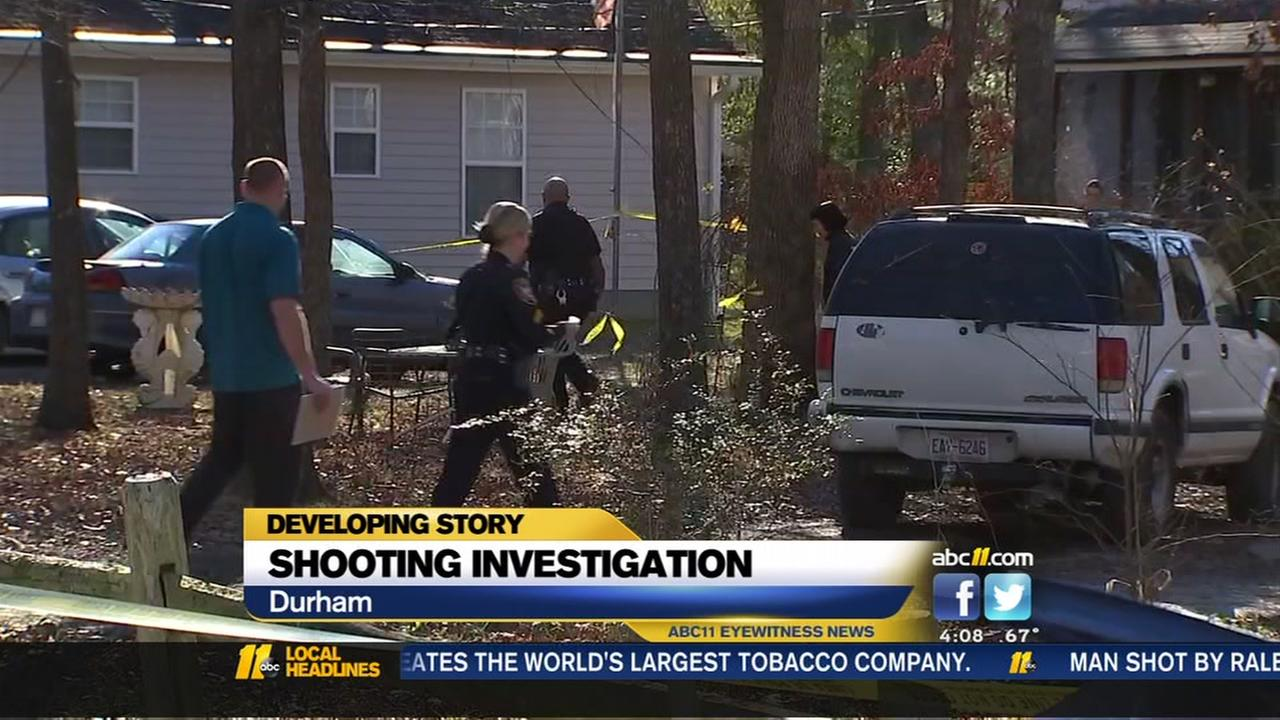 Durham police investigate Wednesday morning shooting