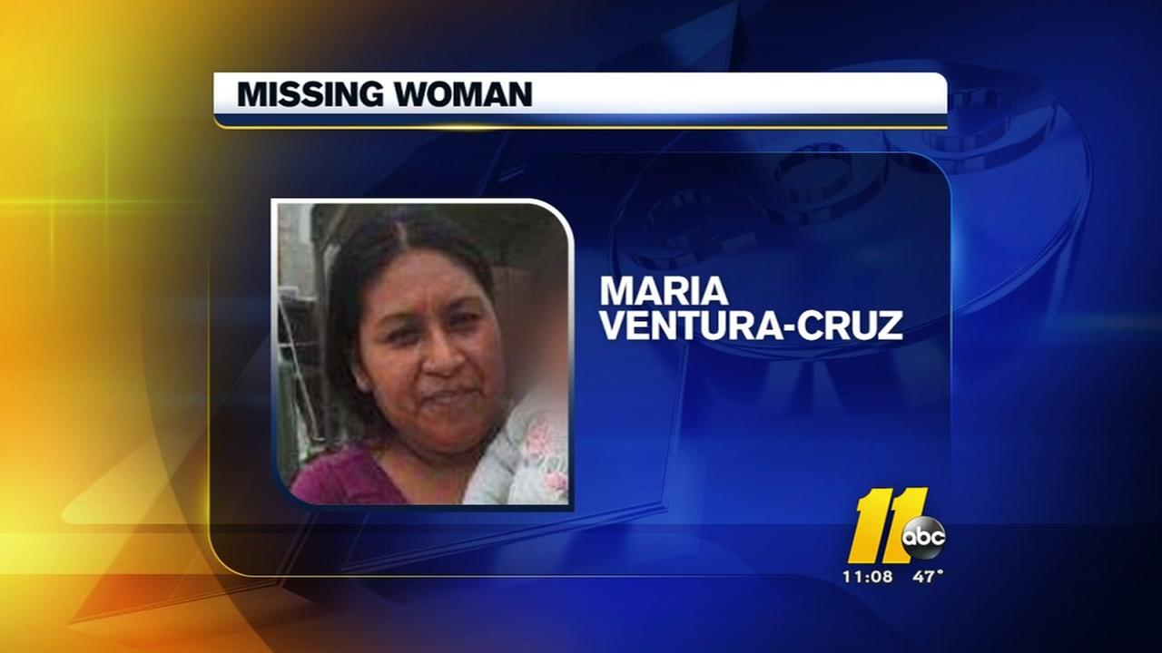 Frantic search for missing Sampson County woman